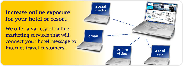 increase online exposure for your hotel or resort